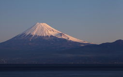 Mountain Fuji and sea Stock Image