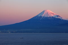 Mountain Fuji and sea Royalty Free Stock Photos