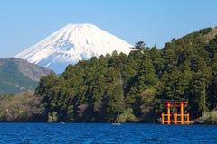 Mountain Fuji in spring Royalty Free Stock Image