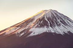 Mountain Fuji sunrise Japan Royalty Free Stock Images