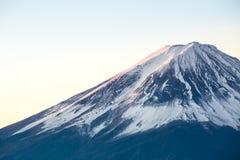 Mountain Fuji sunrise Japan Royalty Free Stock Photo