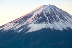 Mountain Fuji sunrise Japan Royalty Free Stock Photos