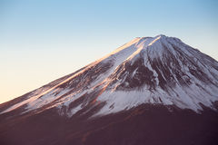 Mountain Fuji sunrise Japan Royalty Free Stock Photos