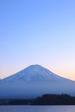 Mountain Fuji in sunset scene at Yamanashi Royalty Free Stock Photography