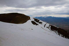 Mountain Gandza. Beautiful mountains in the Armenia Royalty Free Stock Image