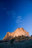 Mountain from the Garden of the Gods Stock Photo