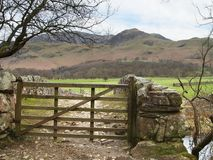 Mountain Gate Royalty Free Stock Photos
