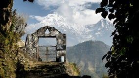 Mountain gate Royalty Free Stock Photo