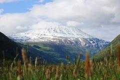 Mountain Gaustatoppen Stock Photos
