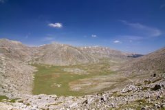 Mountain Giona Alpine Meadow Stock Images