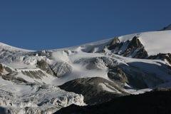 Mountain glacier Royalty Free Stock Image