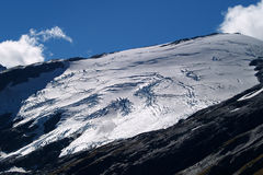 Mountain glacier Stock Photos