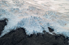 Mountain glacier Stock Photography
