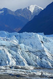 Mountain and glacier Stock Photography