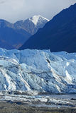 Mountain and glacier Royalty Free Stock Photos