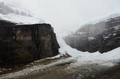 Alberta BC ice wall border 1 royalty free stock images