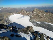 Mountain. Glacier du goleon stock photos