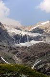 Mountain glacier view in Alps Stock Photography