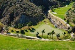 Mountain golf royalty free stock image