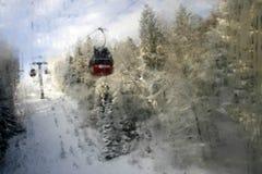 Mountain gondola Stock Photos