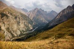 Mountain Gorge in Tian Shan mountain, Kazakhstan Stock Photography