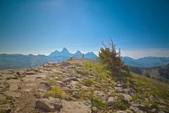 Mountain Grand Tetons Royalty Free Stock Images