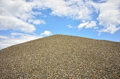 Mountain gravel Royalty Free Stock Photos