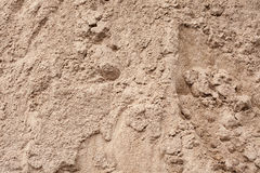 Mountain gray-brown construction sand Royalty Free Stock Photography