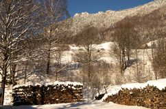 The mountain Great Rozutec Stock Image