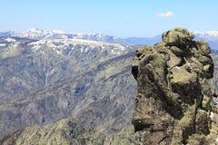 Mountain of Gredos at Avila in Castilla Royalty Free Stock Photography
