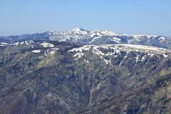 Mountain of Gredos at Avila in Castilla Stock Image