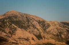Mountain in greece Stock Photos