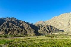 Mountain green valley Stock Photography