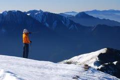 Mountain guide Royalty Free Stock Photos