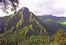 A mountain in hailougou glacier national park, china Stock Image