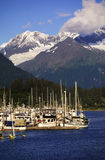 Mountain harbour Royalty Free Stock Images