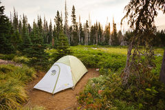 Mountain Hardware Backpacking Tent Camping Stock Photography