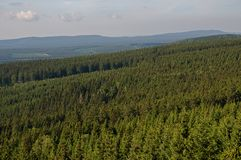 Mountain Harz,Germany Stock Images