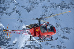 Mountain helicopter Stock Photos