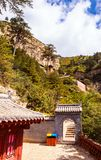 Mountain Hengshan(Northern Great Mountain) scene. Royalty Free Stock Photo