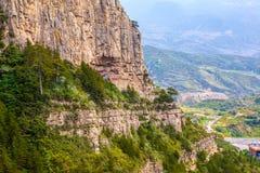Mountain Hengshan(Northern Great Mountain) scene. Stock Photos