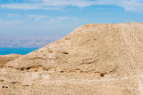 Mountain of The Herod's castle machareus jordan Royalty Free Stock Photography