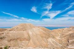 Mountain of The Herod's castle machareus Jordan Stock Image