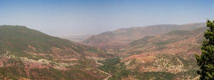 Mountain High Atlas in the summer, Morocco Stock Photo