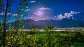 Mountain High during Daytime Royalty Free Stock Image