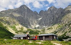 Mountain High Tatras, Lomnicky Stit, Slovakia, Europe Royalty Free Stock Photos