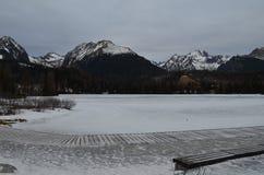 Mountain High Tatras. In Slovakia Royalty Free Stock Image
