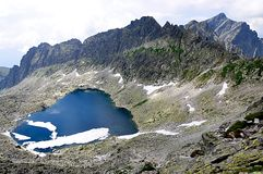 Mountain High Tatras, Slovakia, Europe Stock Photo
