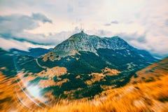 Mountain highest peaks Stock Photo