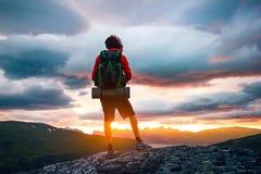 Mountain, Highland, Cloud, Sky Royalty Free Stock Photos